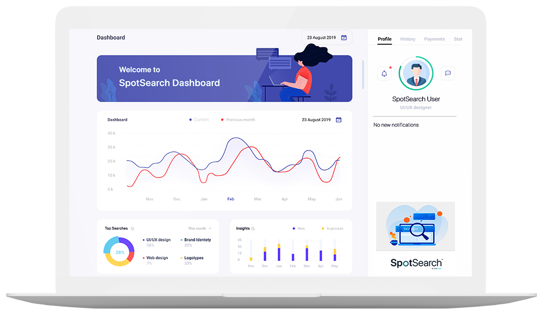 SpotSearch Dashboard